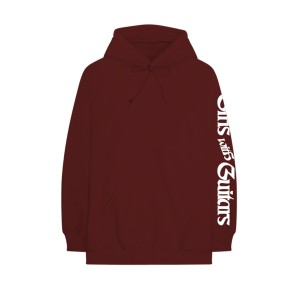 Girls With Guitars Maroon Hoodie