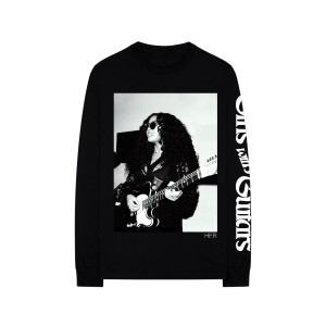 Girls With Guitars Black Long-Sleeve Tee