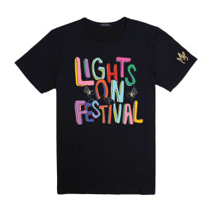H.E.R. Lights On Festival Black T-Shirt