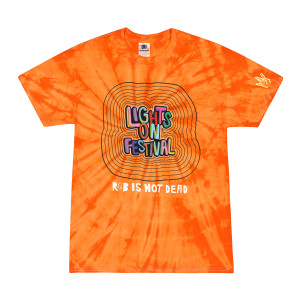 H.E.R. Lights On Festival Tie-Dye T-Shirt