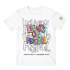 H.E.R. Lights On Festival White T-Shirt