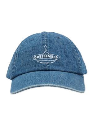 Dressember Logo Denim Hat