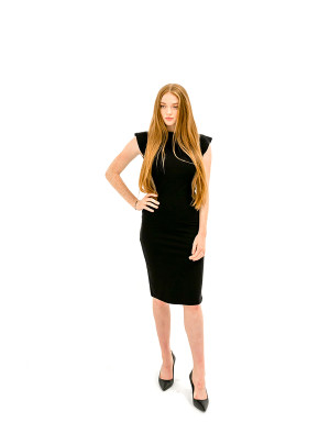 The Caitlin Dress - Black