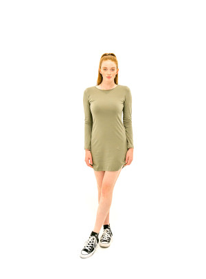 The Laura Dress - Olive