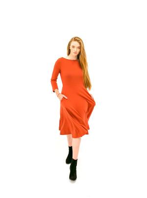 The Jennifer Dress - Ruby Red