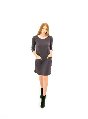 The Anna Dress - Navy