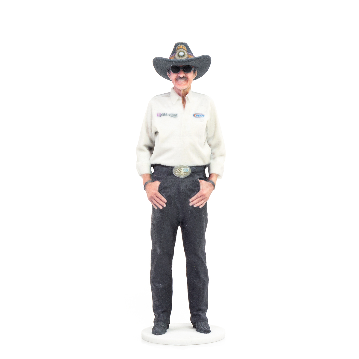 "Richard Petty STP 7"" 3D Printed Figurine"