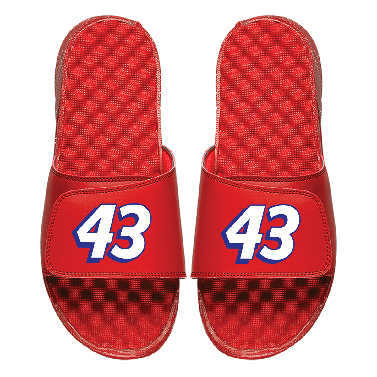 #43 Bubba Wallace NASCAR Red ISlides