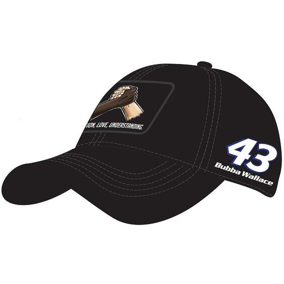 Bubba Wallace #43 2020 #BlackLivesMatter NASCAR Graphic Hat