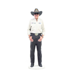 "Richard Petty STP 3.5"" 3D printed Figurine"