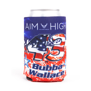 #43 NASCAR Bubba Wallace Patriotic Can Cooler