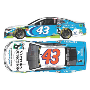 Bubba Wallace 2019 NASCAR #43 Victory Junction Chevrolet Camaro ZL 1 HO 1:24 - Die Cast