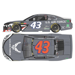 Bubba Wallace #43 2019 U.S. Air Force Warthog Monster Energy NASCAR Cup Series Elite 1:24 - Die Cast