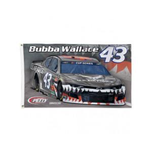 Bubba Wallace #43 2020 Deluxe Flag 3' x 5'