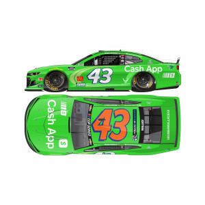 Bubba Wallace #43 Cash App Chevrolet Camaro 2020 NASCAR Cup Series 1:24 ELITE Die-Cast