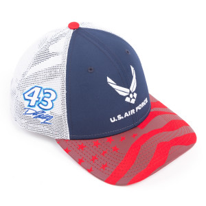 Bubba Wallace #43 NASCAR 9Forty New Era Air Force American Salute Hat