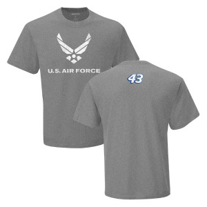 Bubba Wallace NASCAR #43 Air Force T-shirt
