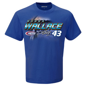 Bubba Wallace #43 2019 NASCAR Schedule T-shirt