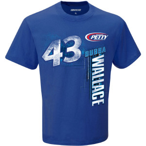 Bubba Wallace #43 2020 NASCAR CUP SERIES Race Schedule T-shirt
