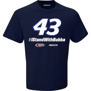 Bubba Wallace #43 #IStandWithBubba T-shirt