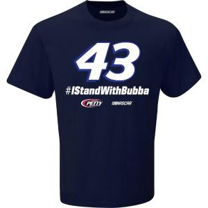 Bubba Wallace #43 #IStandWithBubba T-shirt
