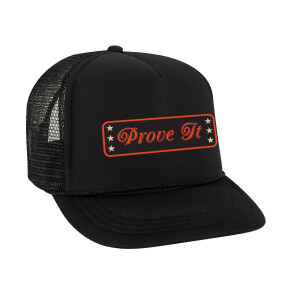 Prove It Black Trucker Hat