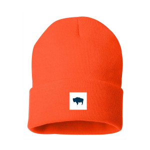 Buffalo Blaze Orange Beanie