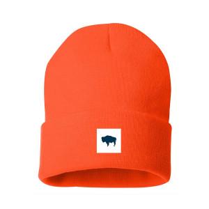 Buffalo Blaze Orange Beanie