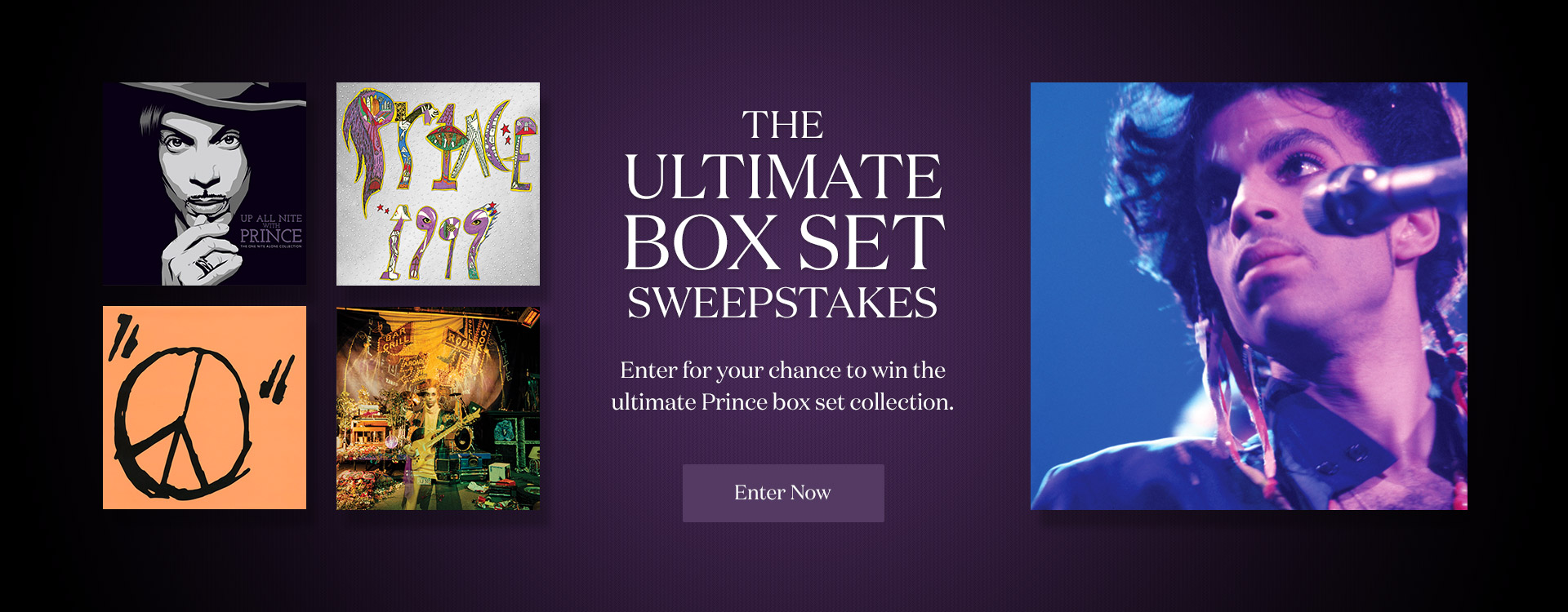 Enter for your chance to win the ultimate Prince box set collection.