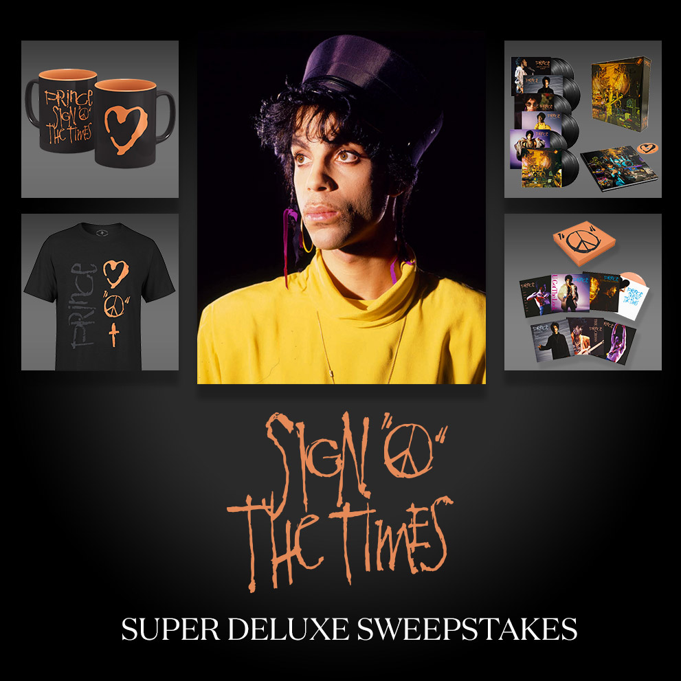 Enter the Sign O' The Times Super Deluxe Sweepstakes