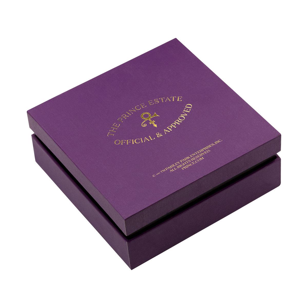 Prince Symbol Leather Bracelet [Silver]