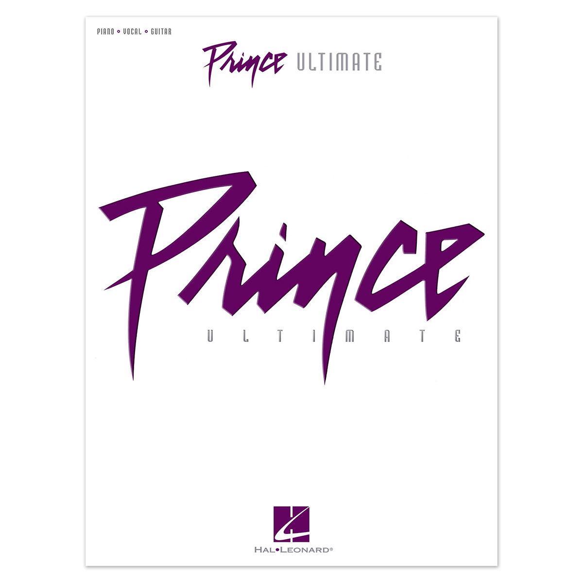 Prince - Ultimate (Artist Songbook - Piano/Vocal/Guitar)