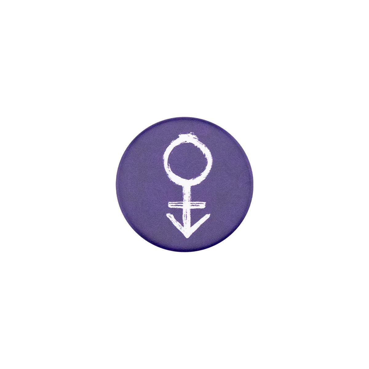 Prince Symbol #1 PopSocket (Purple Paisley)