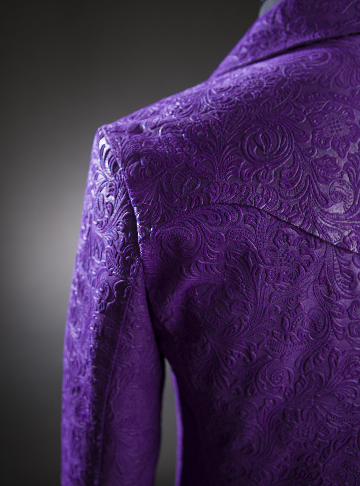 x Call & Response | Purple Paisley Trench