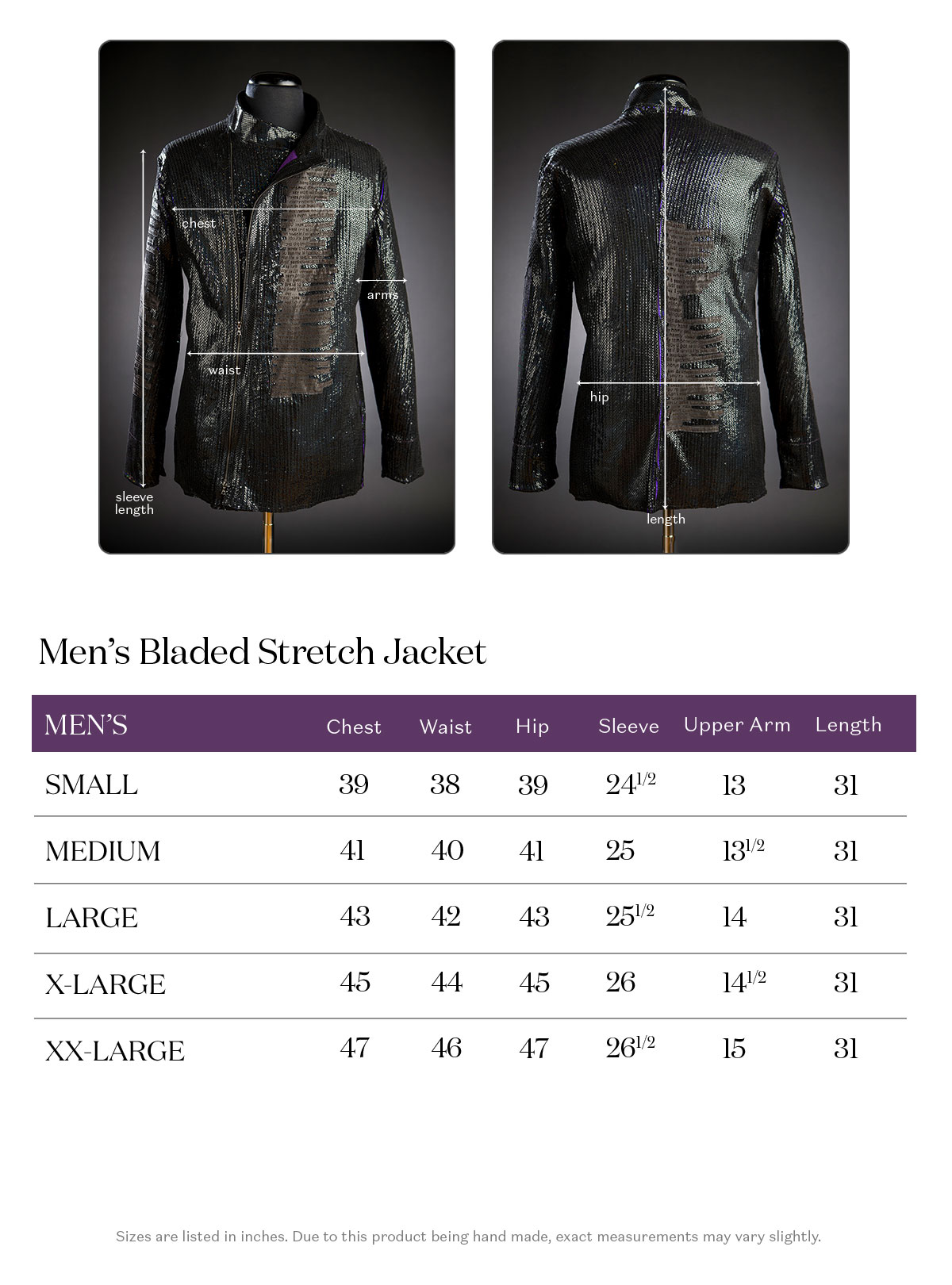 x Call & Response | Men's Bladed Stretch Leather