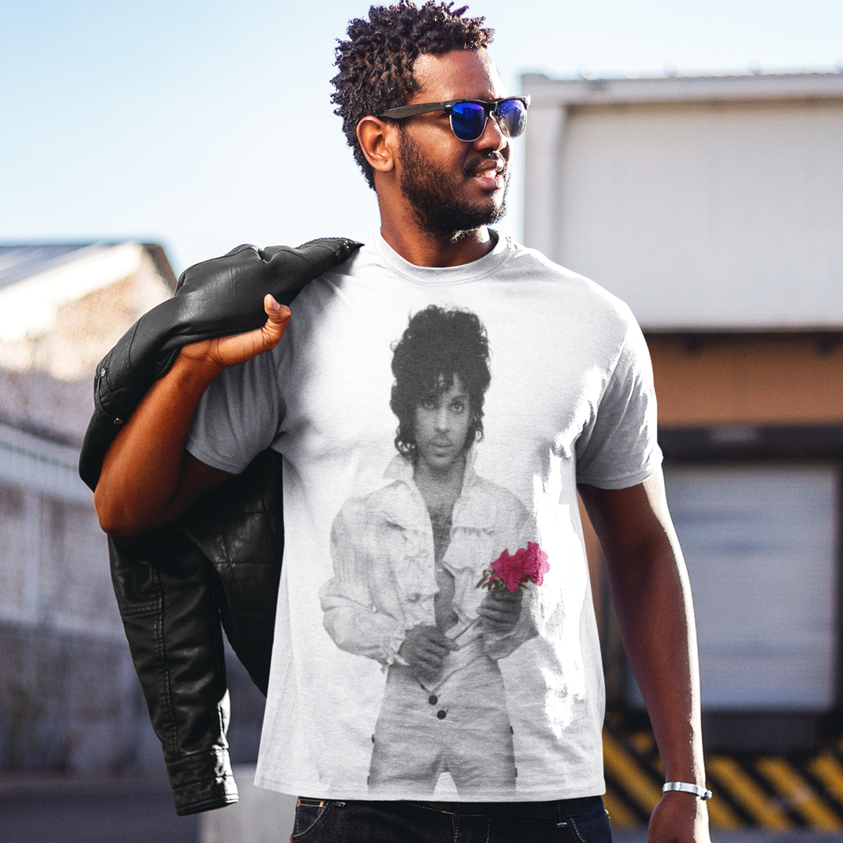 Purple Rain Flower T-shirt