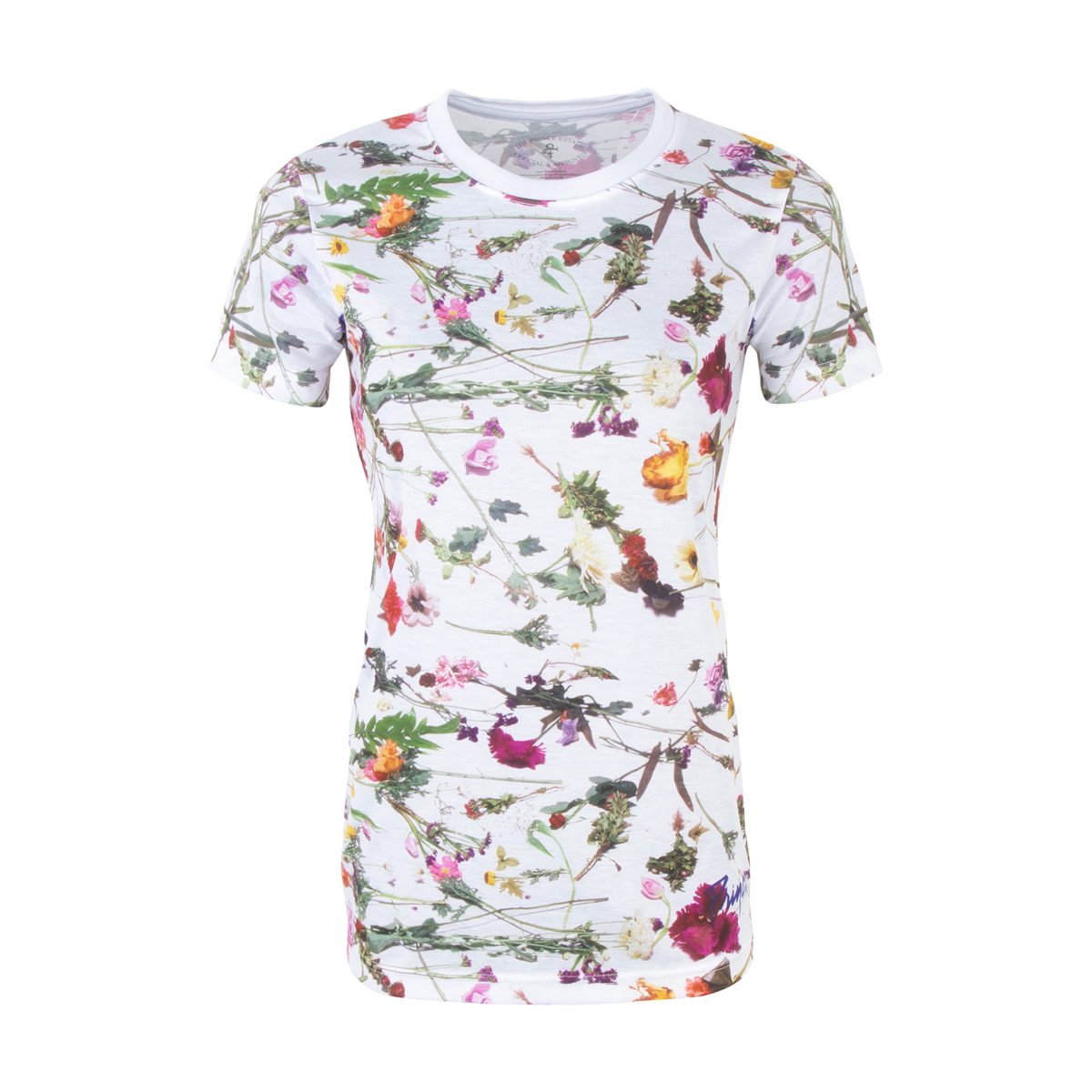 Purple Rain Floral Women's T-shirt