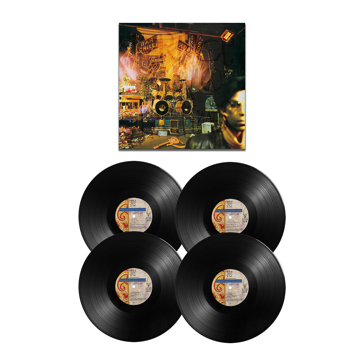 Sign O' The Times Remastered Deluxe Edition (4LP 180g)
