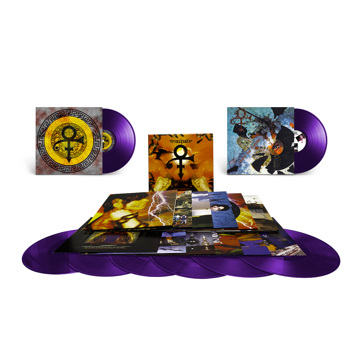 LP Bundle - Emancipation (6LP), Chaos And Disorder (1LP), The Versace Experience (Prelude 2 Gold)(1LP)