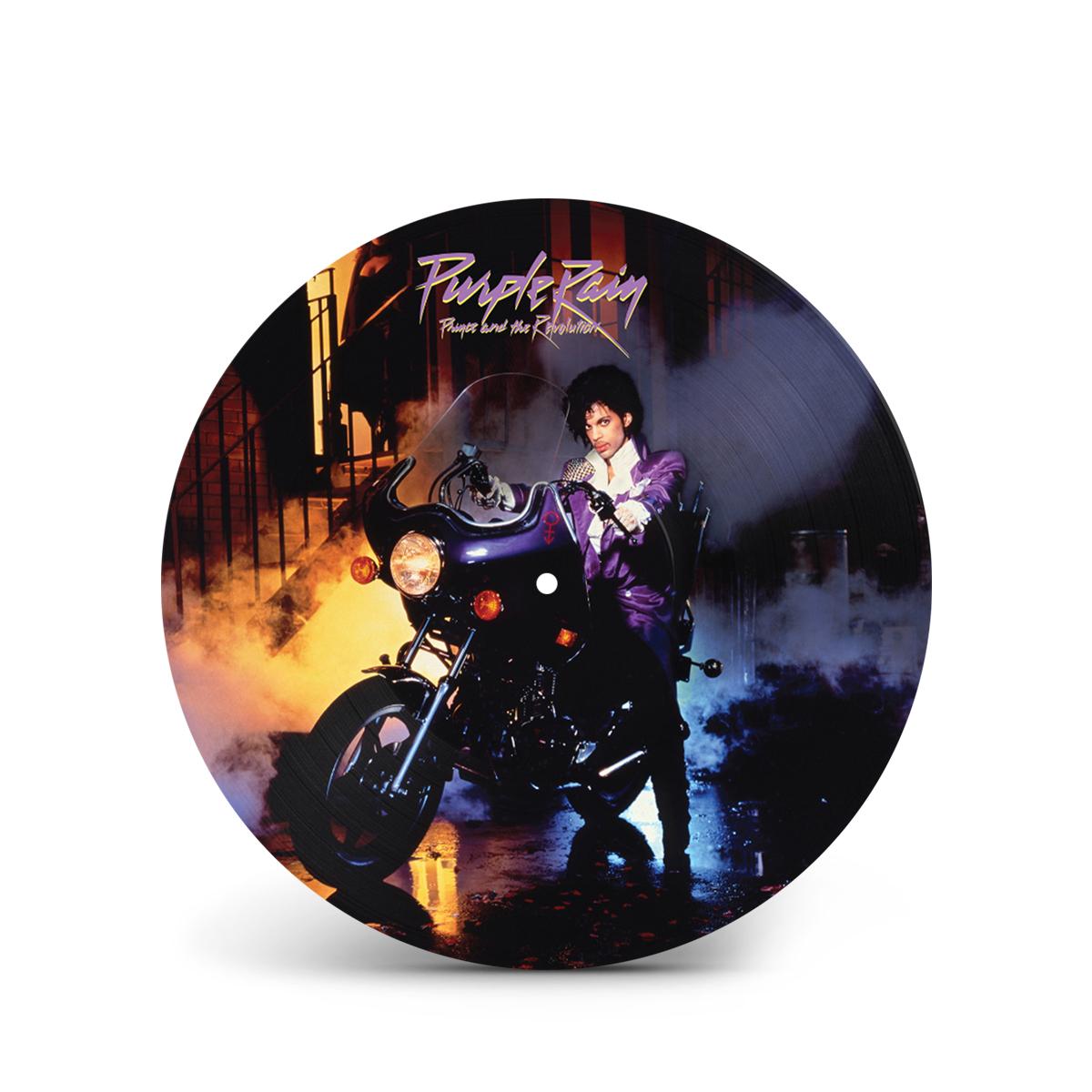 Purple Rain Doves T-Shirt & Purple Rain (Picture Disc)(Vinyl)