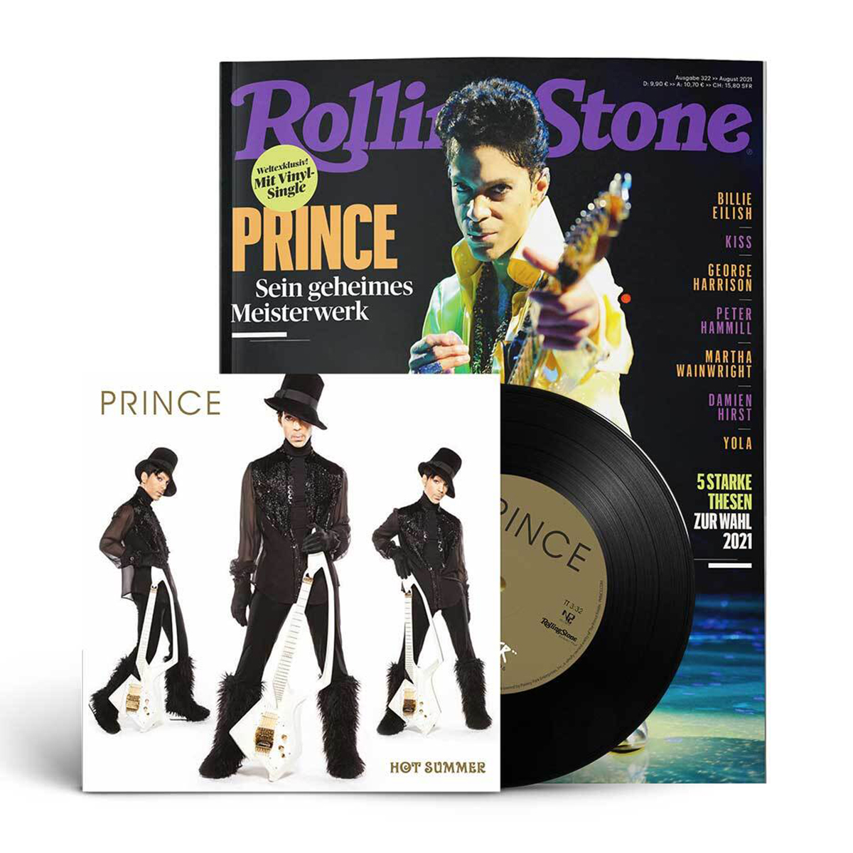 """Rolling Stone + Exclusive W2A 7"""" (Special German Edition)"""