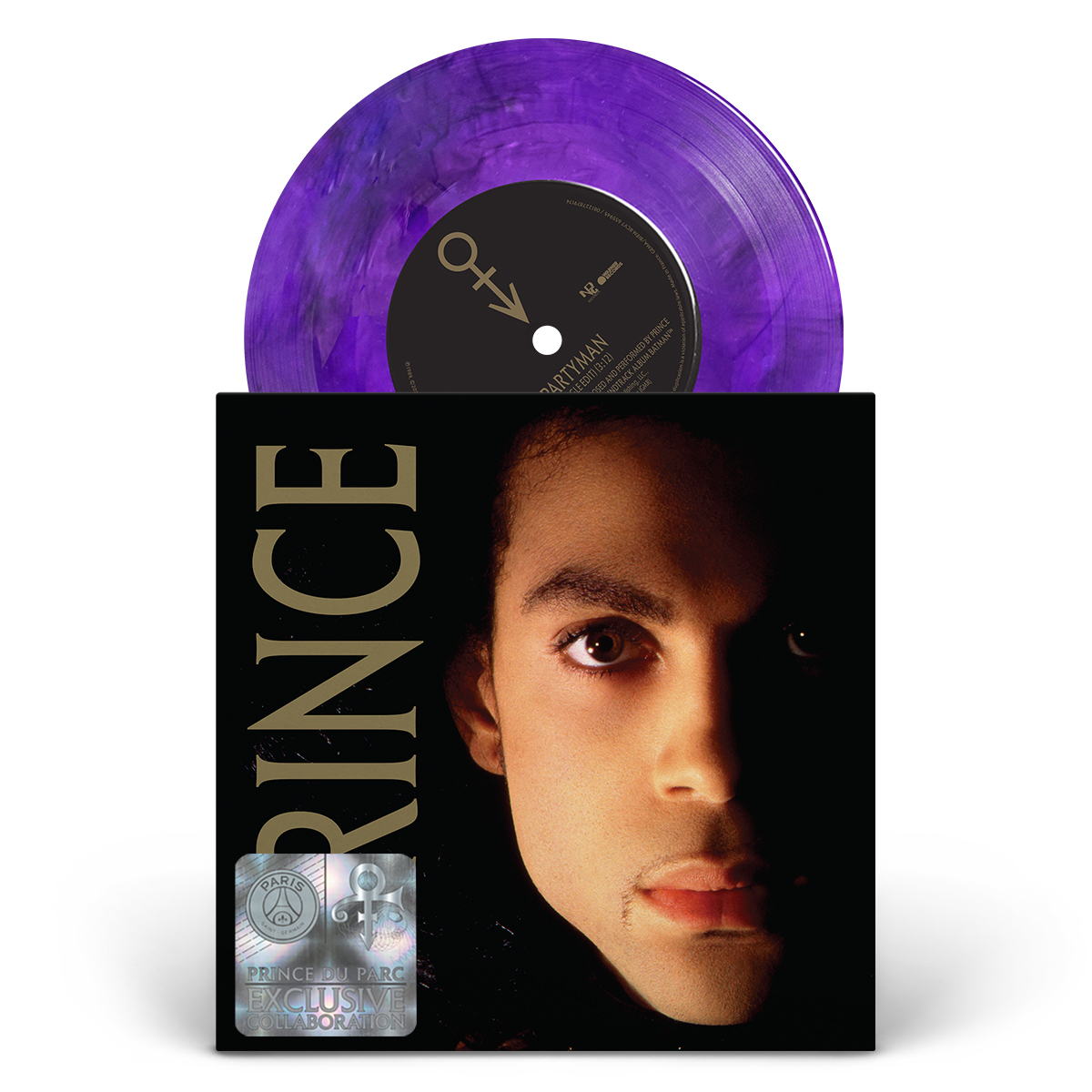 "Partyman 7"" Exclusive Limited Edition Purple Vinyl (PSG)"