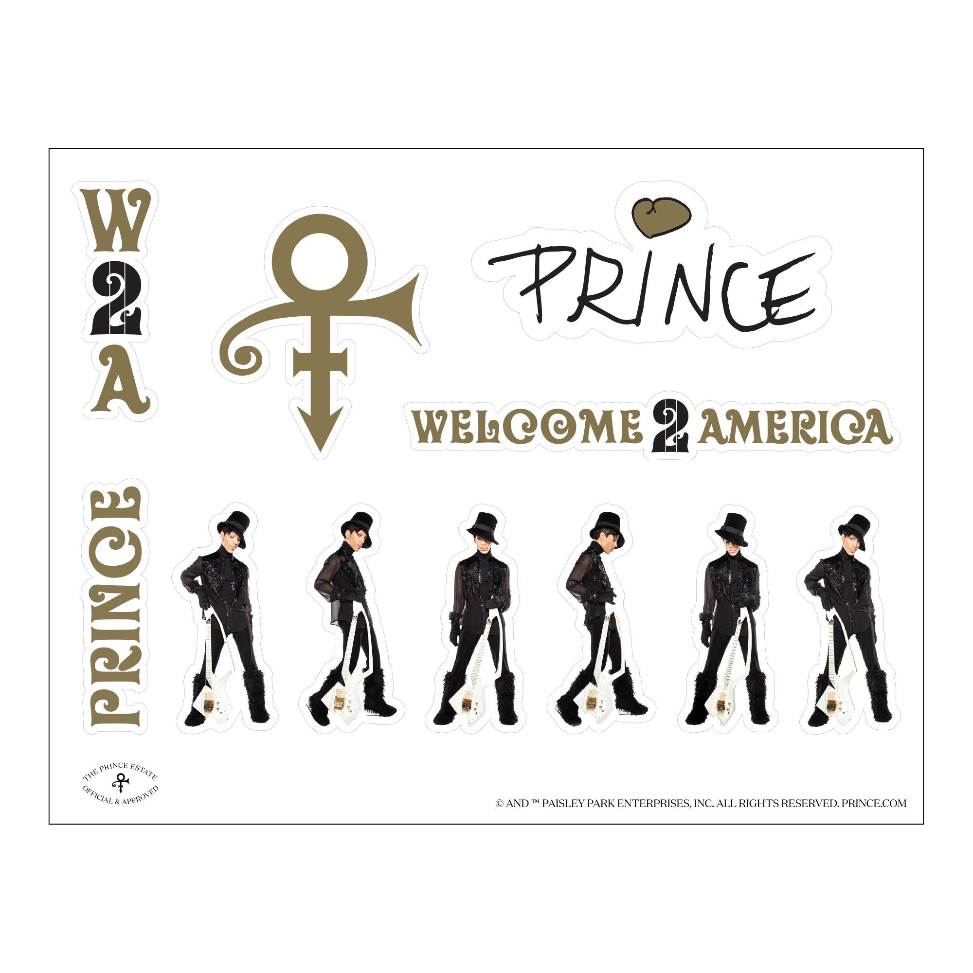 Welcome 2 America Sticker Sheet