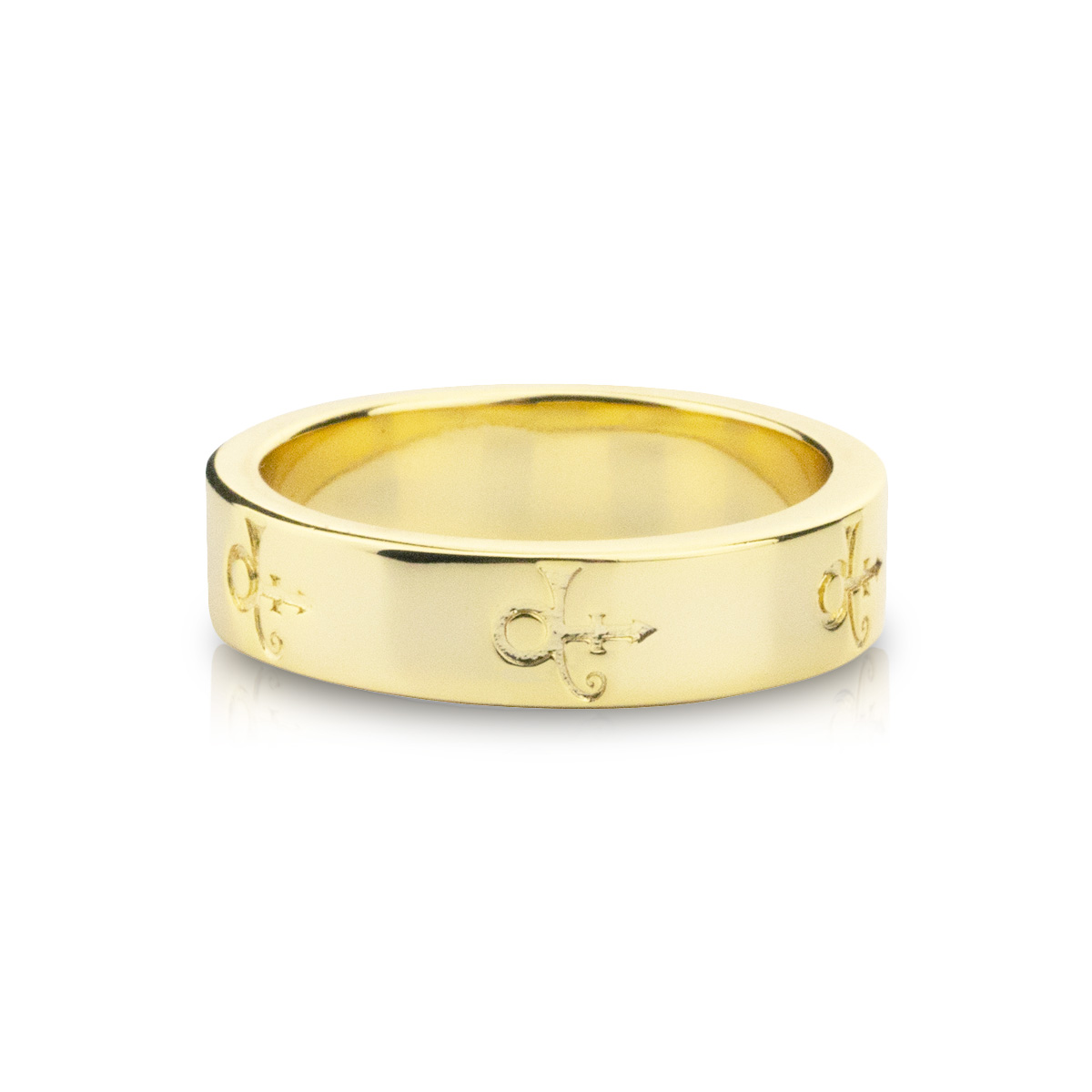 Prince Symbol Band [Gold]