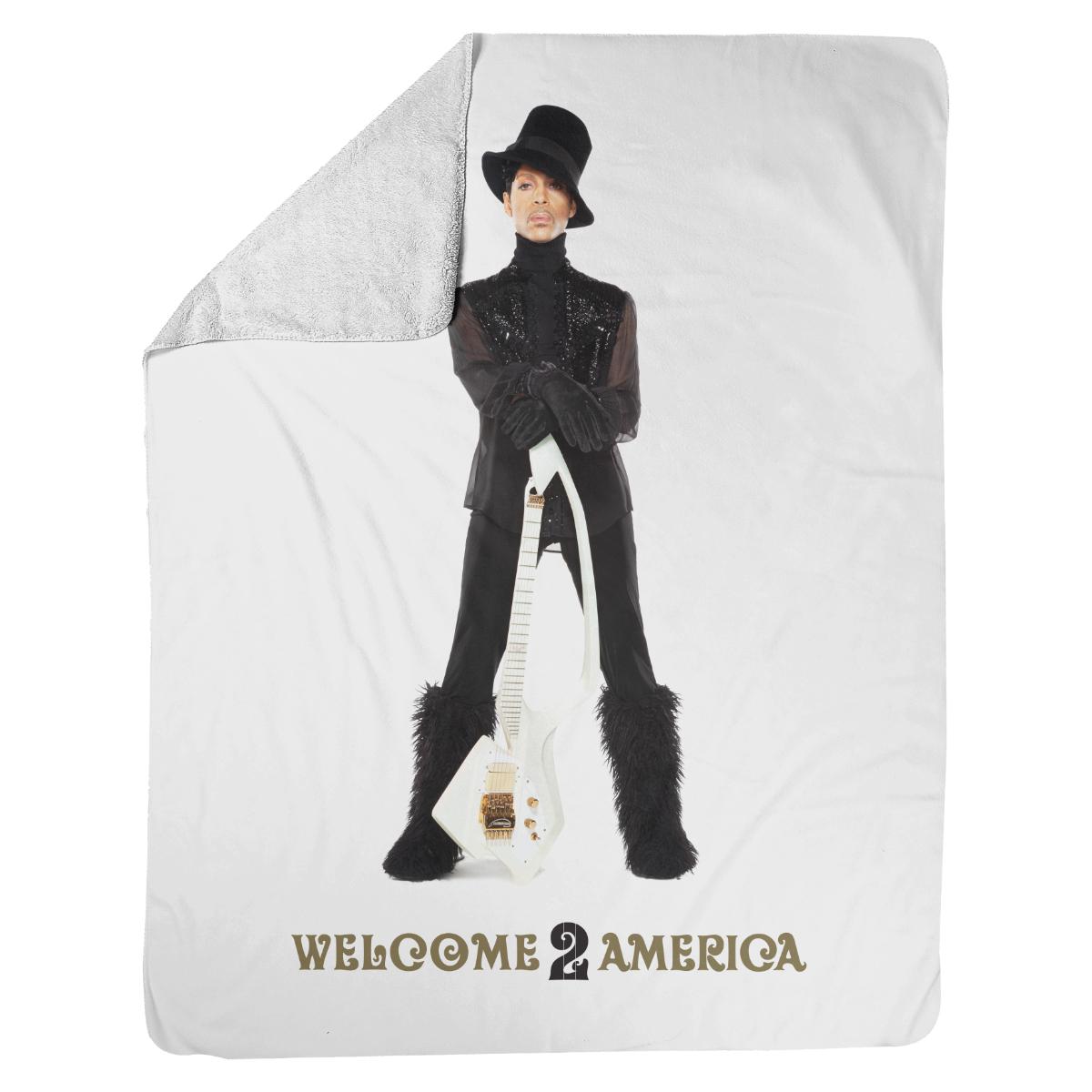Welcome 2 America Portrait Blanket