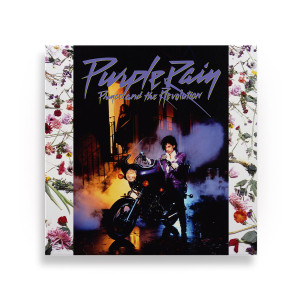 Purple Rain Canvas