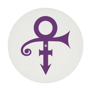 Purple & White Double Sided Slipmat
