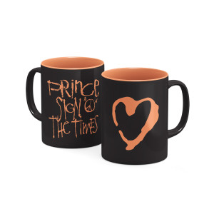 Sign O' The Times Heart Mug
