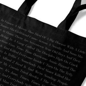 Sign O' The Times | Lyric Tote