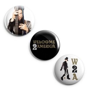 Welcome 2 America Button Set 3-Pack